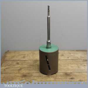 115mm - 4 12 Diamond Core Drill & shaft for Brick, Blockwork or Concrete