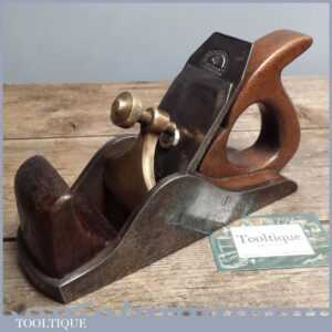 Antique Cast Infill Smoothing Plane - Vintage Slater Pattern