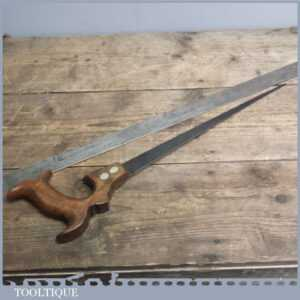 Antique Tyzack - Turner 19th C Keyhole Hand Saw