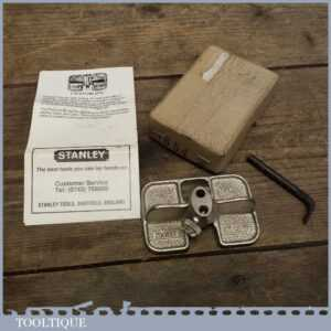 Boxed Stanley No 271 Router Plane - Woodworkers Tool in VGC