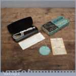 Boxed Vintage Moore & Wright Micrometer - Imperial & Metric