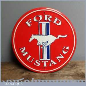 Decorative 12 Tin Automotive Ford Mustang Sign