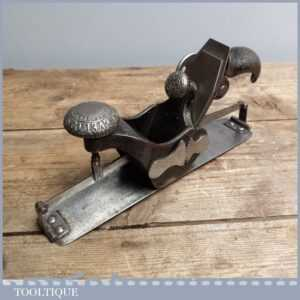 Early Antique Stanley Rule & Level Co. No. 113 Compass Plane
