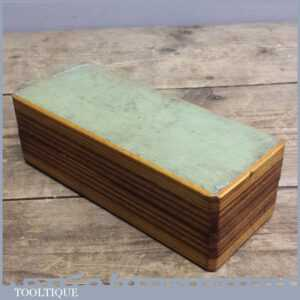 Good Boxed 6 Norton India Combination Oil Stone - Sharpening Stone