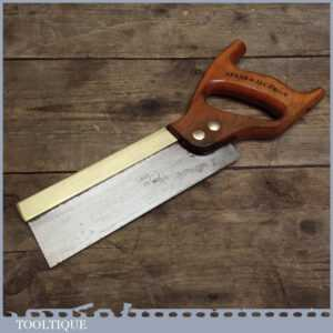 Good Spear and Jackson 8 Dovetail Saw - Small Tenon with Fine Teeth