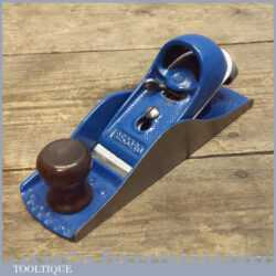 Good Vintage Record 0220 Adjustable Block Plane – Fully Refurbished Tool