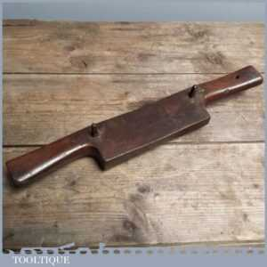 Large Vintage Coopers Spokeshave - Good Old Woodworking Tool