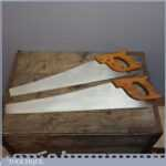 Pair of Spear and Jackson Saws - 6 tpi & 9 tpi - Lightly Used Woodworking Tools