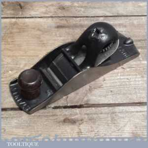 Rare Vintage Stanley No110 USA Block Plane With Star Lever Cap - Old Hand Tool