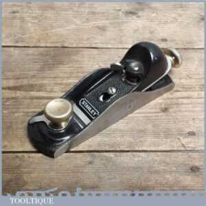 Stanley No 60 12 Low Angle Block Plane - Adjustable throat