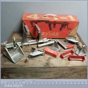 Swiss Zyliss Portable Clamping System - Handy Boxed 4 IN 1 DIY Table Vi