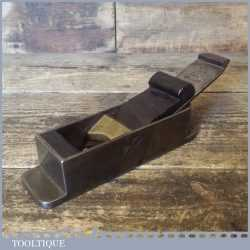 """Very Rare Antique Spiers of Ayr 6 ½"""" Dovetailed Steel Mitre Plane Rosewood Infill"""