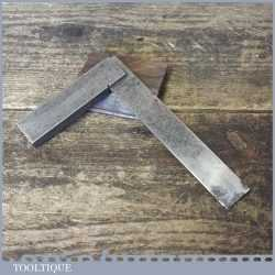 """Vintage Moore & Wright Engineer's 4"""" Precision Set Square - Good Condition"""
