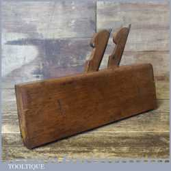 Rare Antique John Moseley Twin Ironed Beechwood Moulding Plane - Good Condition