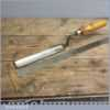 """Vintage 1 1/8"""" Wide Forged Steel Paring Chisel By Stormont of Sheffield"""