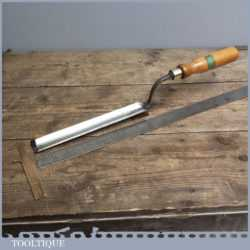 """Vintage Forged 1 1/16"""" Steel Paring Chisel By Stormont of Sheffield"""