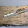"""Vintage Forged 1 1/4"""" Steel Paring Chisel By Stormont of Sheffield"""