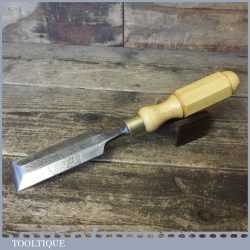 "Vintage I & H Sorby 1 ½"" Carpenter's Bevel Edge Chisel - Sharpened Honed"