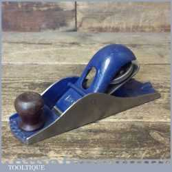 Vintage Record No: 0110 Block Plane - Fully Refurbished Ready To Use