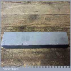 "Vintage 8"" x 1 ¾"" Welsh Slate Fine Grit Oilstone - Good Condition"