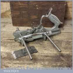 Vintage Boxed Pemuvar No: P44 Plough Plane 5 Cutters - Fully Refurbished