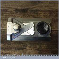 Vintage Record No: 2506 Side Rabbet Plane With Fence - Fully Refurbished