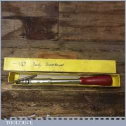 Vintage English Made Boxed Pump Action Screwdriver - Good Condition