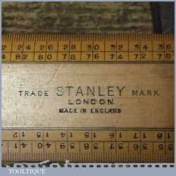 Vintage Stanley London Boxwood Scale Rule - Good Condition