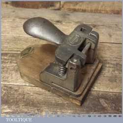 Vintage Pioneer Pyramid Cast Iron Office Punch - Good Condition