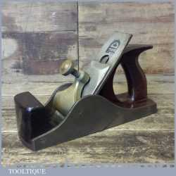 Antique Henry Slater Smoothing Plane Rosewood Infill - Good Condition