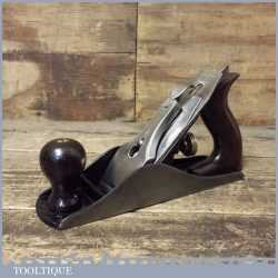 Vintage Stanley Sweetheart USA No: 4 Smoothing Plane PAT Date 1910 - Fully Refurbished