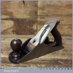 Vintage Stanley No: 4½ Wide Bodied Smoothing Plane - Fully Refurbished