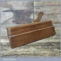 "Vintage Moseley & Son 3/16"" Grooving Beech Moulding Plane - Good Condition"