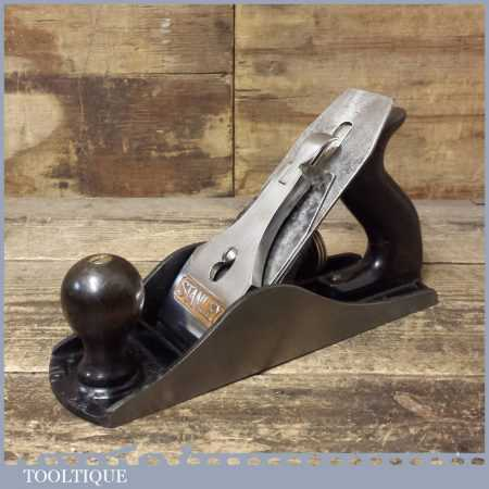 Vintage Stanley No: 4 ½ Wide Bodied Smoothing Plane - Fully Refurbished