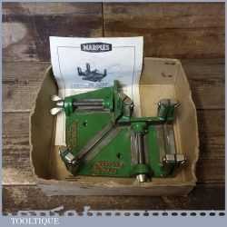 Vintage Boxed Marples No: 6809 Mitre Saw Cutting Vice Square Guide And Clamp