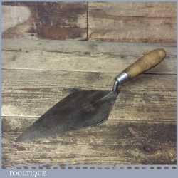 "Vintage WHS Brades Bricklayers 9 ¼"" Trowel - Good Condition"