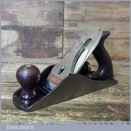 Modern Stanley No: 4 ½ Wide Bodied Smoothing Plane - Fully Refurbished