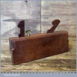 Antique King & Peach 1843-1864 Beech Dado Moulding Plane - Good Condition
