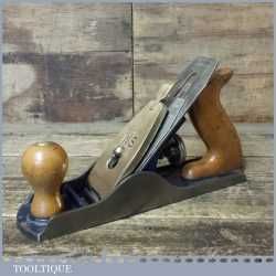 Vintage WS Sheffield No: 4 Smoothing Plane - Fully Refurbished Ready To Use