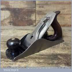 Vintage Stanley USA No: 4 ½ Wide Bodied Low Knob Smoothing Plane - Fully Refurbished