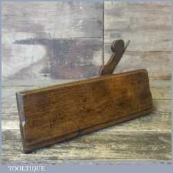 Antique Side Round Beechwood Moulding Plane - Good Condition