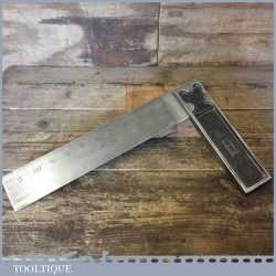 """Vintage Rabone& Sons No: 1905 Steel Carpenters 12"""" Try Square - Good Condition"""