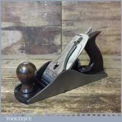 Vintage Stanley No: 4 ½ Wide Bodied Smoothing Plane - Fully Refurbished Ready To Use