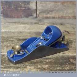 T12079 - Vintage Record No: 60 ½ adjustable throat block plane, fully refurbished