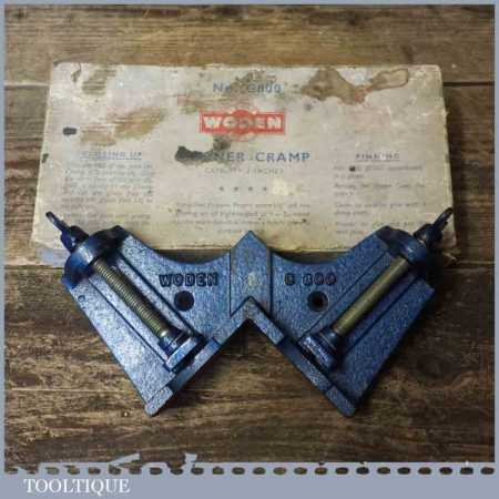 Vintage Boxed Woden No: C800 Mitre Corner Clamp - Good Condition