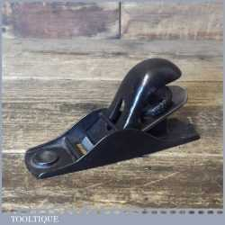 Vintage Stanley No: 102 block plane, fully refurbished ready for use and in good used condition.