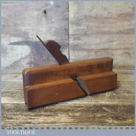 Antique Ross & Alexander Rounding Or Nosing Beech Moulding Plane