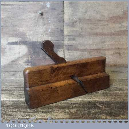 Scarce Antique I. Parker Of Tewkesbury Ogee Moulding Plane