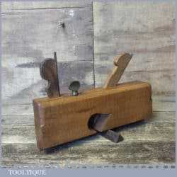 "Vintage Buck ¾"" Beechwood Dado Moulding Plane - Good Condition"