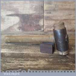 Vintage Thor Type No: 2 Panel Beaters Hide Hammer - Good Condition